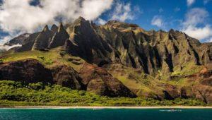 ハワイの離島でおすすめの観光スポット ナパリコースト