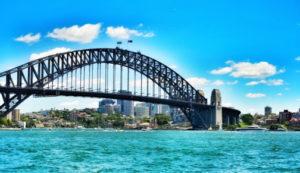 オーストラリアのおすすめ観光スポットハーバーブリッジ