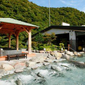 箱根 滝の流れる庭園と屋上露天風呂「天成園 」